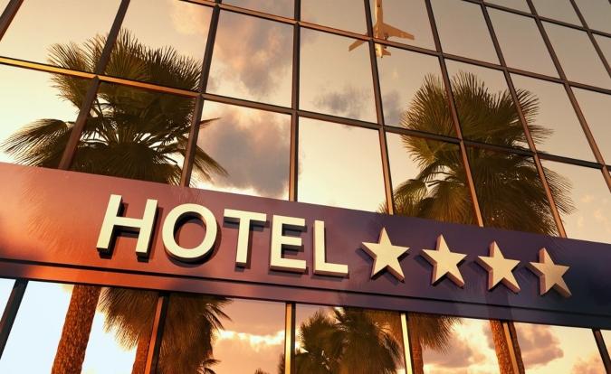 Economia de água em hotéis